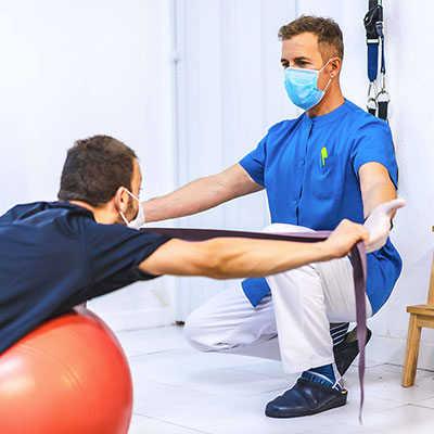 resistance training with PT